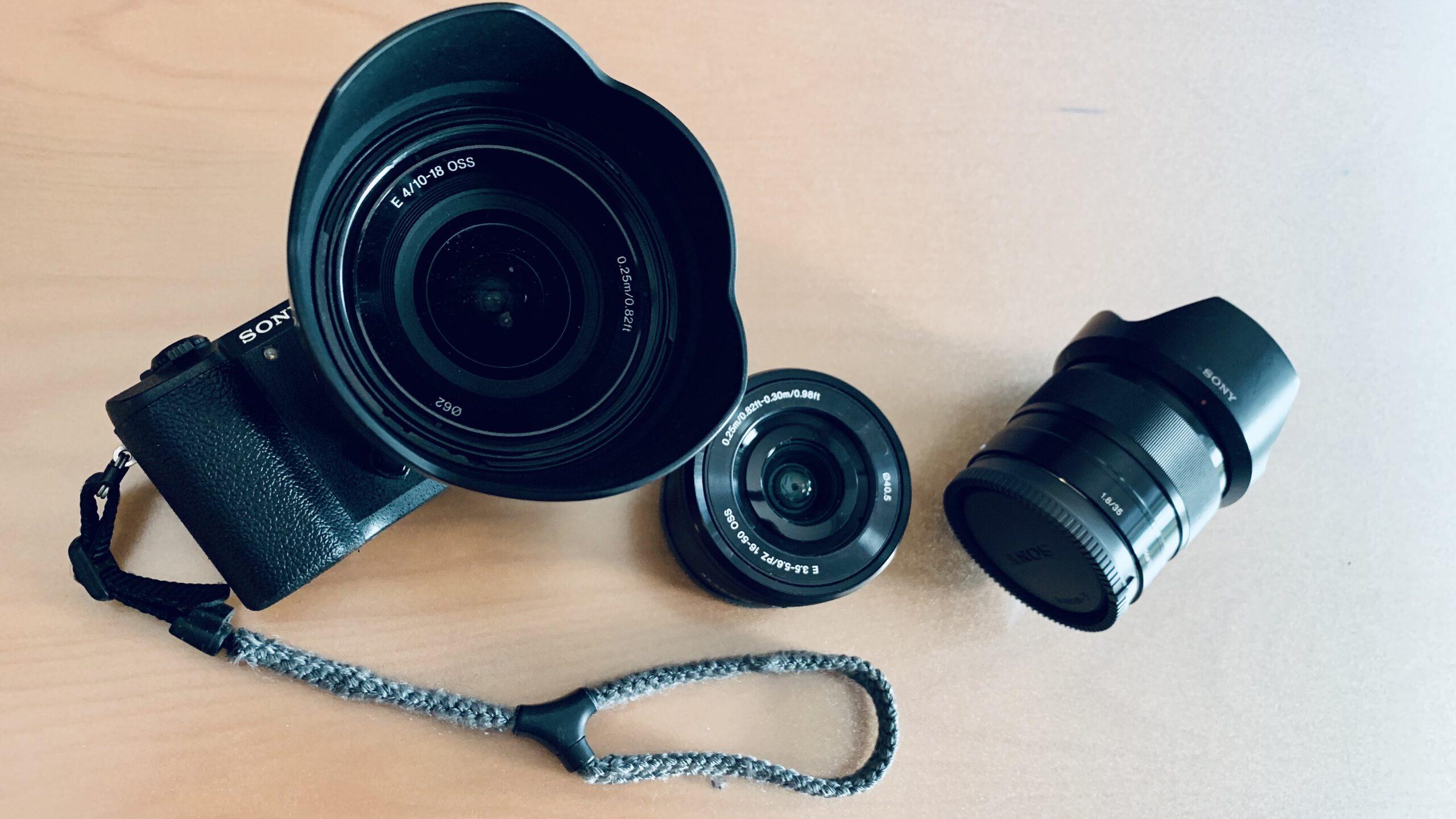 Kamera und Objektive scaled