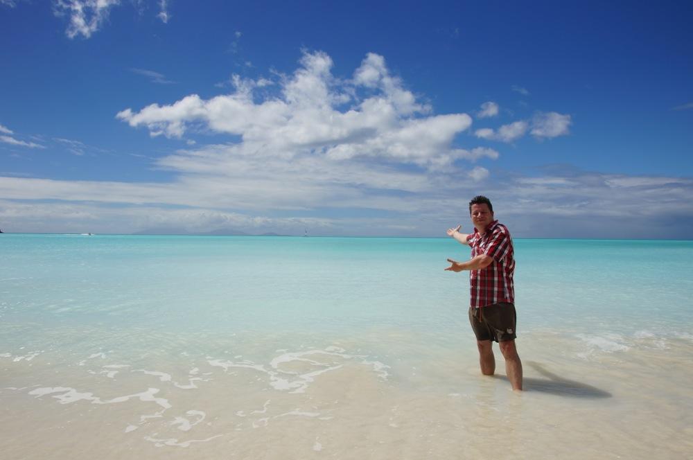 karibik willkommen am strand andre