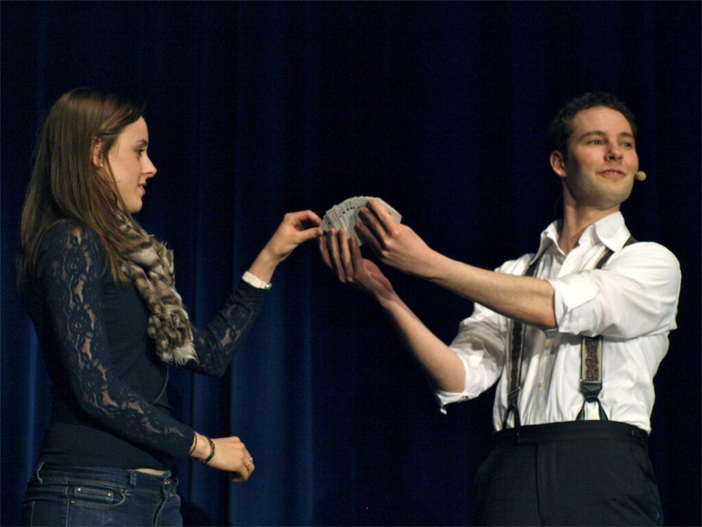 zaubergala modern art of magic theater am ring saarlouis hannes freytag